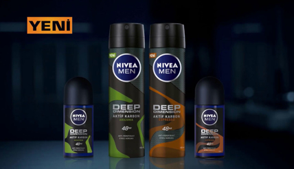 NIVEA MEN Deep Dimension Serisi