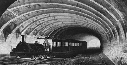 Dünyanın En Eski Yeraltı Metrosu